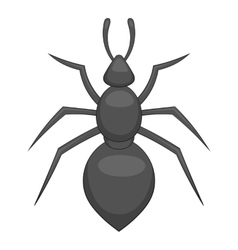 Ant icon cartoon style vector image