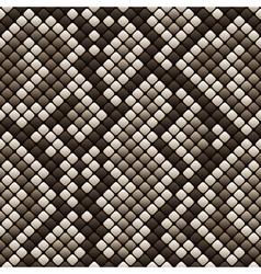 Snakeskin seamless pattern - vector image