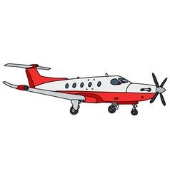 Small propeller airliner vector