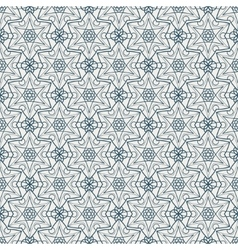 Arabic seamless pattern vector image