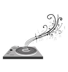 audio console device icon vector image