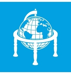 Best earth globe vector image vector image