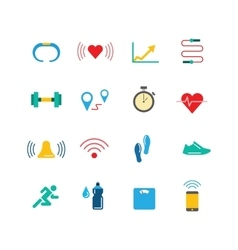 Fitness activity tracker 02 vector