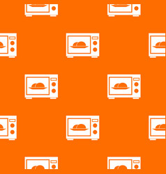 microwave pattern seamless vector image