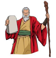 Moses portrait vector
