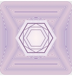 Offset sacred geometry vector