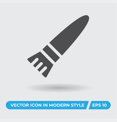 paintbrush icon simple sign for web site and vector image