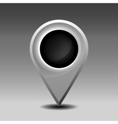 Blank marker pin vector image vector image