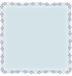 blank frame banner template vector image vector image