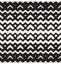 Seamless Chevron ZigZag Rounded Lines vector image vector image
