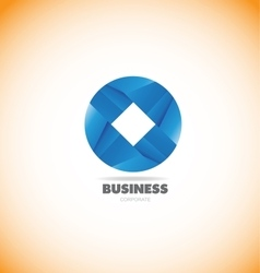 Business corporate circle logo icon vector