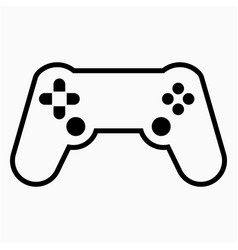 Console icon vector