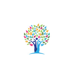 Family tree symbol icon design vector