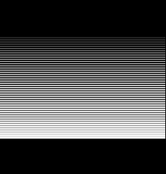 Horizontal speed line halftone pattern thick vector