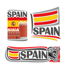 logo for spain vector image