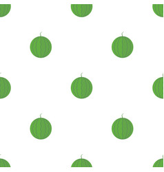 Seamless pattern with watermelons vector