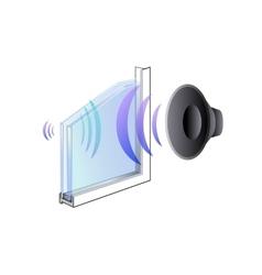 The properties of the window glazing vector