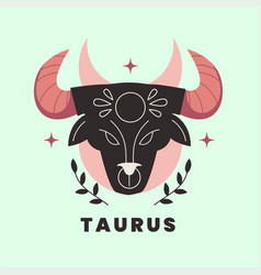 Zodiac sign flat design vector