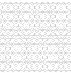 modern sacred geometry seamless pattern vector image
