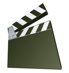 film clapperboard vector image