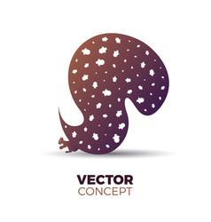 squirrel concept vector image