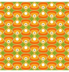 60s fabric pattern vector