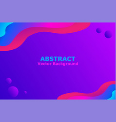 abstract liquid background vector image