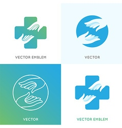 Charity concepts and volunteer organizations vector
