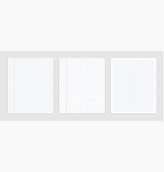 Graphical blank paper sheet set for data vector
