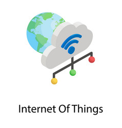 Internet things vector