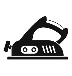 Jack plane icon simple vector