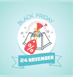 november black friday vector image