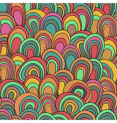 Psychedelic waves pattern vector