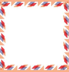 square pattern cartoon vector image