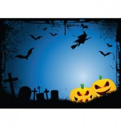 Halloweenbackground vector image vector image