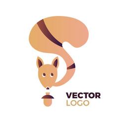 squirrel concept vector image vector image