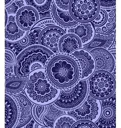Decorative seamless pattern Zen-tagle style vector image vector image
