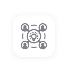 brainstorm icon symbol vector image
