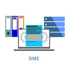 dms vector image