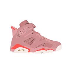 Jordan 6 retro aleali may sneaker shoe consept vector