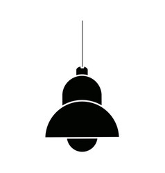 Lamp bulb element of interior modern vector