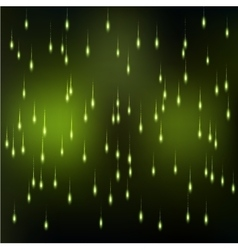 Sparkle rain background vector