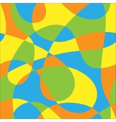 Color pattern of loops vector image