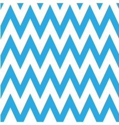 Seamless chevron pattern in blue and white vector image
