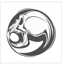 Demon Skull vector image vector image