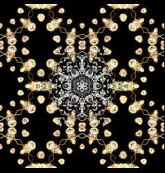 paisleys elegant floral seamless pattern vector image vector image
