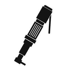 pneumatic screwdriver icon simple vector image