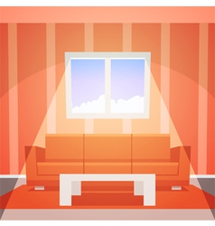 Room with window vector image vector image