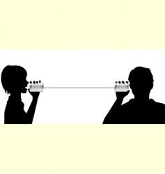 telecommunication vector image