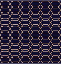 abstract geometric pattern in line style vector image